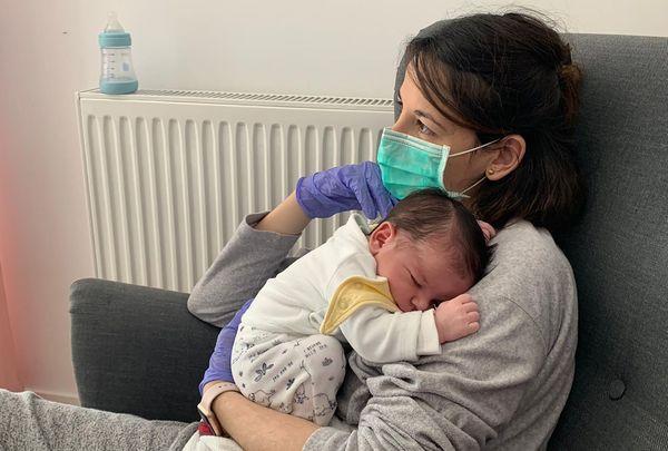 Moeder met Corona in Madrid mocht pas na twee weken haar baby vast houden