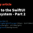 A Guide to The SwiftUI Layout System