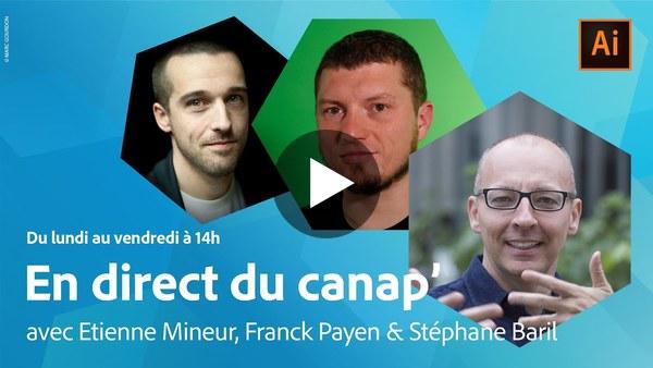 En direct du canap' | Jeux et interactivité avec Etienne Mineur | Adobe France