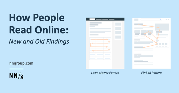 How People Read Online: New and Old Findings
