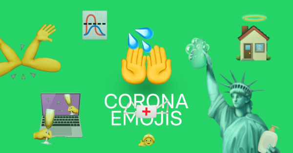 Corona Emojis by Joran Backx and Esther van Brakel - Request yours!