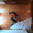 Man Goes Stop-Motion Skiing in His Living Room