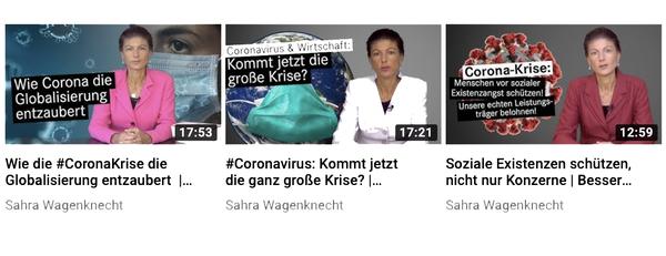 Einschätzungen zur Corona-Krise auf YouTube ansehen