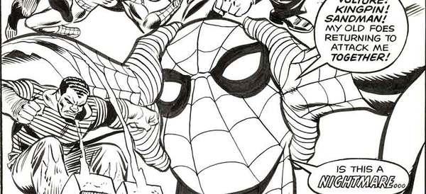 Gil Kane - Amazing Spider-Man #150 Original Cover Art