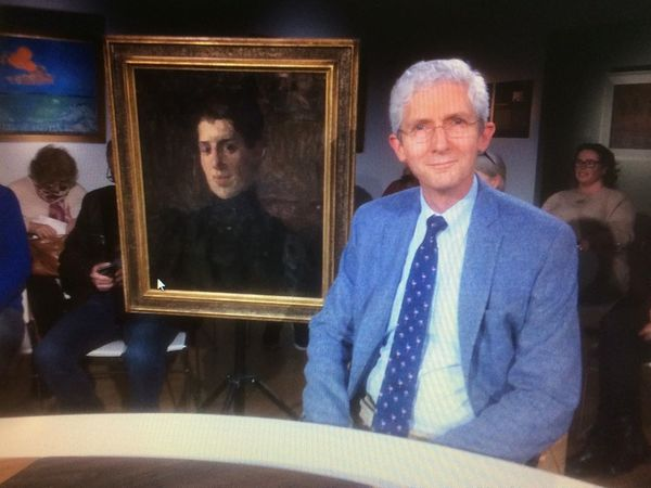 """""""The Tussen Kunst & Kitsch episode of today was recorded at the KunstMuseum Den Haag. To my surprise I found this unsigned portrait by Isaac…"""""""