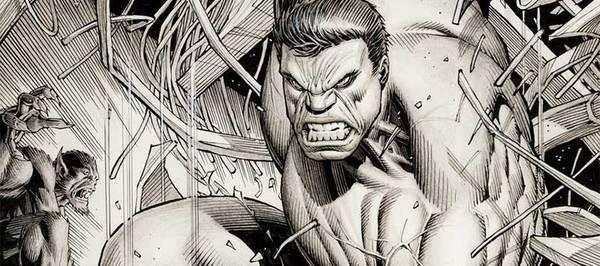 Dale Keown - Incredible Hulk Original Comic Art