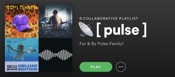 📡 [ pulse ] — a playlist on Spotify