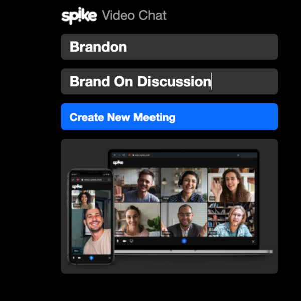 Spike Video Chat Meeting