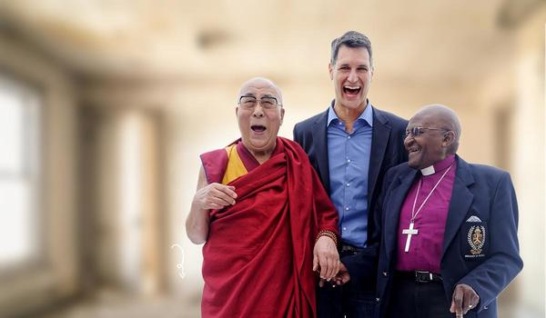 The Book of Joy, a wonderful conversation between His Holiness the Dalai Lama and Archbishop Desmond Tutu