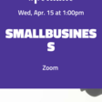 TODAY at 1 PM: CARES Act Small Business Webinar