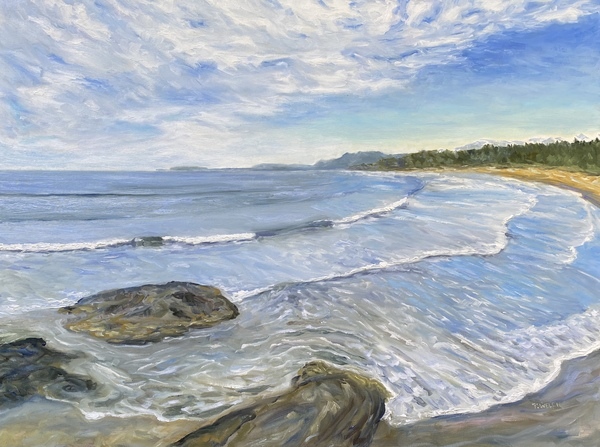 "Wickininnish Beach in the Pacific Rim Park Reserve by Terrill Welch - 30"" x 40"""