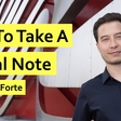 How to Take a Digital Note by Tiago Forte
