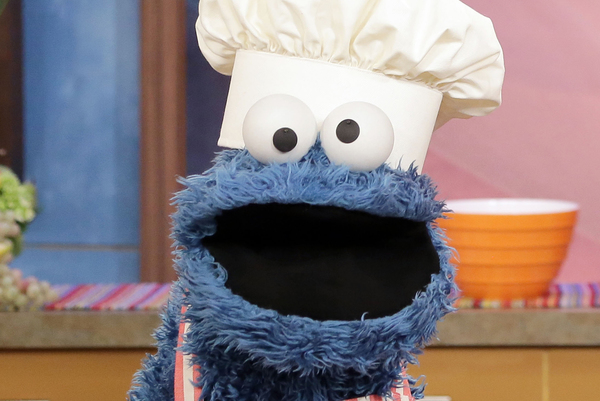 Cookie Monster Is Hosting a Weekly 'Snack Chat' to Help Kids Deal with Staying Home During COVID–19