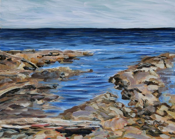 Light Sea and Sandstone at Reef Bay by Terrill Welch | Artwork Archive