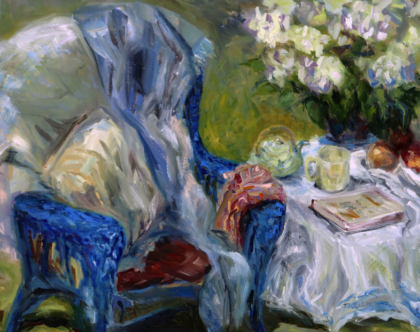 Spring Tea by Terrill Welch | Artwork Archive