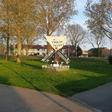 De molen naast museum Oud Alkemade opnieuw gerestaureerd