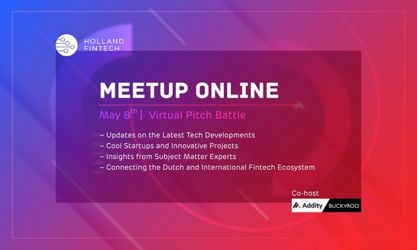 Holland FinTech Meetup Online: May Edition
