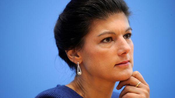 Sahra Wagenknecht spricht über Krisenmanagement in Zeiten von Corona