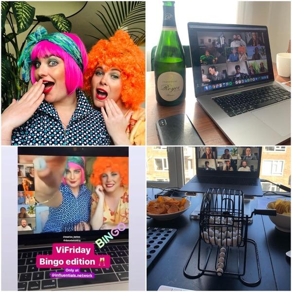 A small recap of our Virtual Friday bingo edition
