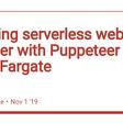 Building serverless web crawler with Puppeteer on AWS Fargate - DEV Community 👩💻👨💻