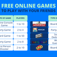 Free Online Games To Play With Your Friends