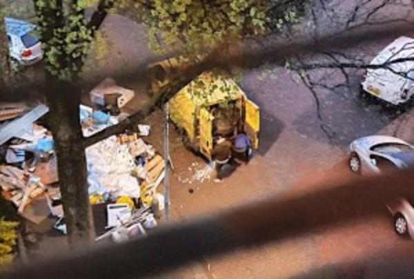 Vuilnisbelt aan Peperstraat (o.a.) | De Orkaan