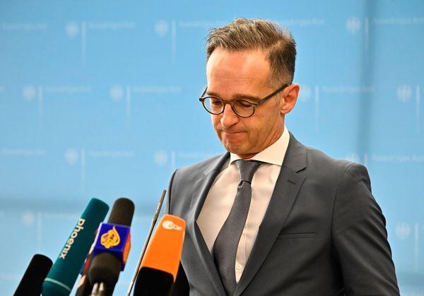 De Duitse minister Maas