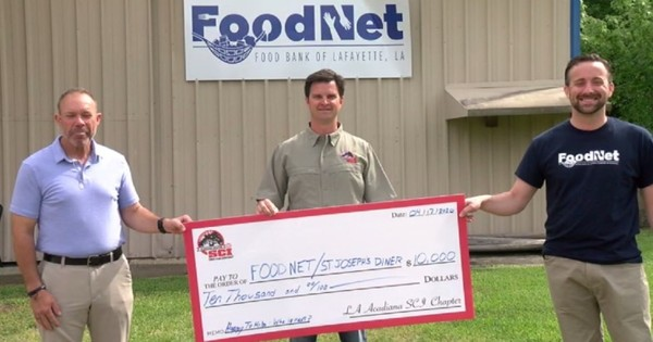 Local chapter of Safari Club International gives back to charities feeding the community