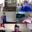 9 Year Old Harlem Globetrotter Fans Get a Big Surprise From their Idols