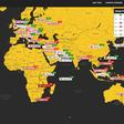 BitcoinPriceMap: de bitcoinprijs per land