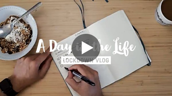 Productive Day in the Life in Lockdown // Behind the Scenes of my iPad Pro Videos