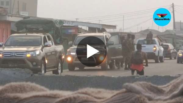 Military storm Chokor after residents defied lockdown directive to party at beach