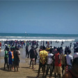 Easter Sunday: Chorkor beach packed as residents defy lockdown directives to chill