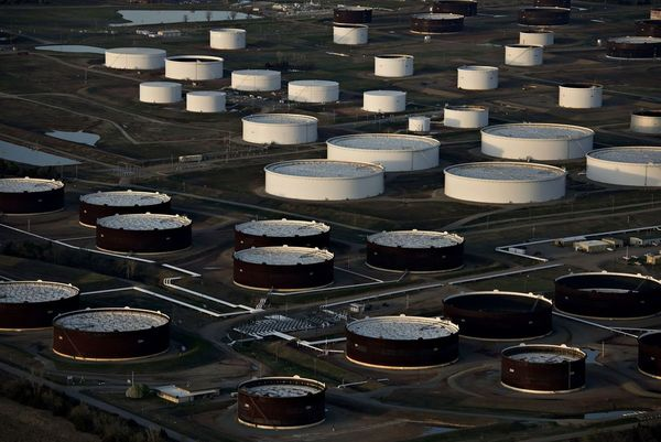 Oil plunges below zero for first time in unprecedented wipeout