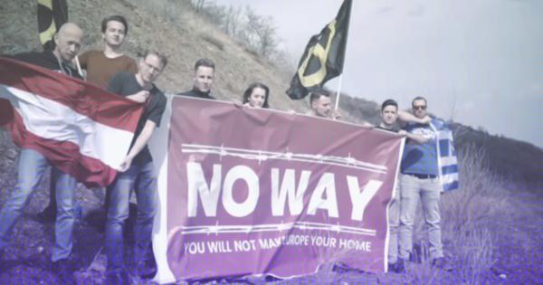 Extreemrechts gebruikt migratiedrama voor eigen propaganda