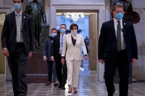 Leden van het Huis van Afgevaardigden komen op Capitol Hill samen om te stemmen over extra noodhulp voor kleine bedrijven (foto: Reuters)