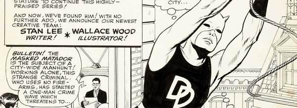 Wally Wood - Daredevil Original Comic Art