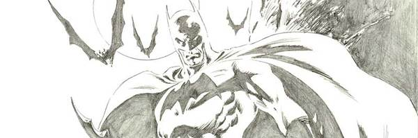 Steve Epting - Batman Original Comic Art