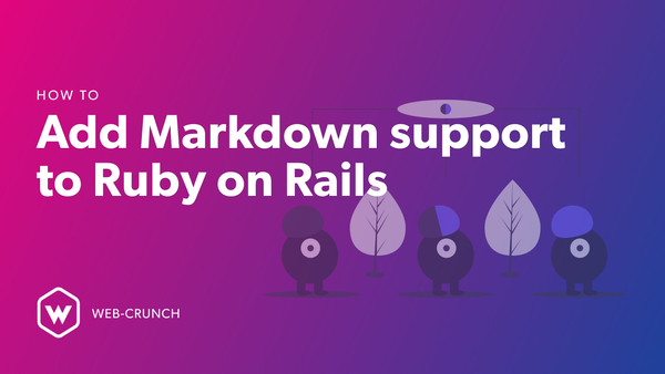 How to add markdown support to Ruby on Rails