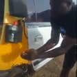 Coronavirus: Taxi driver invents automated hand washing machine for his car