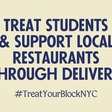 Support two vulnerable communities: NYC students & local restaurants