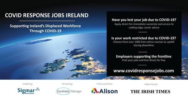 COVID Response Jobs Ireland