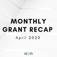 ICON Monthly Grant Update — April 2020 - Hello ICON World