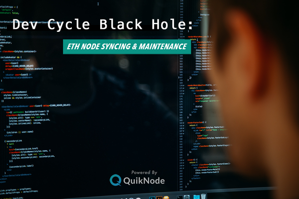 ETH Node Syncing & Maintenance