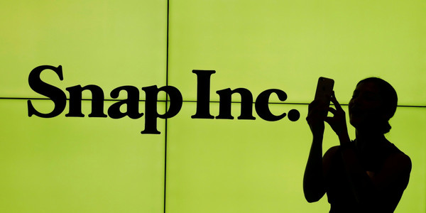 Snap jumps 20% as coronavirus spurs use in Q1 2020