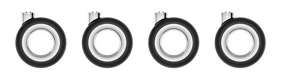 Apple Mac Pro Wheels-kit