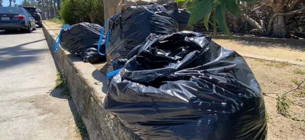 Trash issue now as controversial as crowds on Central Coast beaches - KEYT | KCOY