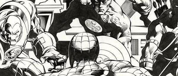 Mike Deodato - Avengers Original Comic Art