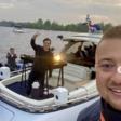 Martin Garrix op Kagerplassen, flyboarder Bo Krook breekt in