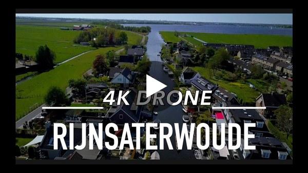 Gave dronebeelden Rijnsaterwoude (video)